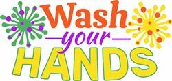 Wash Your Hands print art