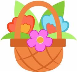 Floral Basket print art