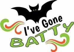 Ive Gone Batty print art