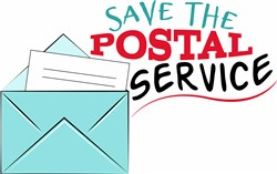 Save The Postal Service print art