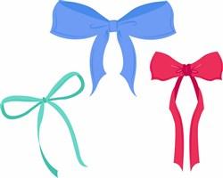 Ribbon Bows print art