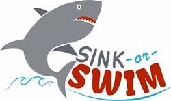 Sink Or Swim print art