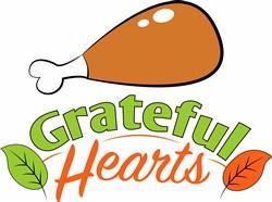 Grateful Hearts print art
