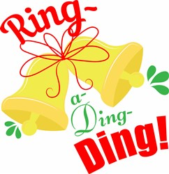 Ring A Ding Ding print art