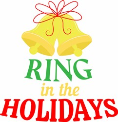 Ring In The Holidays print art