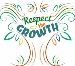 Respect The Growth print art
