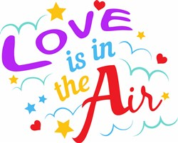 Love Is In The Air print art