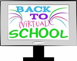 Virtual School print art