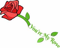 Youre My Rose print art