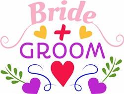 Bride & Groom print art