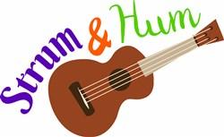 Strum & Hum print art