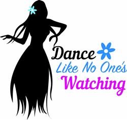 Dance Like No Ones Watching print art