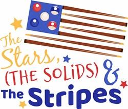 Stars, Solids & Stripes print art