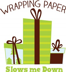 Wrapping Gifts print art