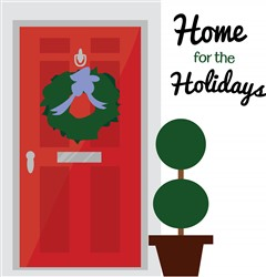 Home For Holidays print art