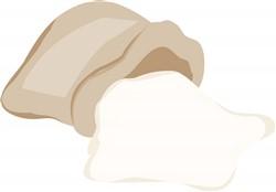 Flour Bag print art