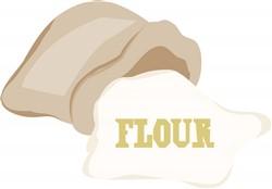 Bag Of Flour print art