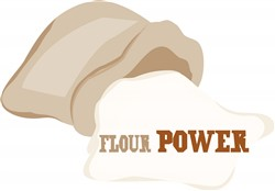 Flour Power print art