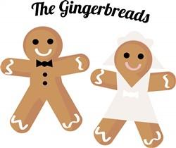 The Gingerbreads print art