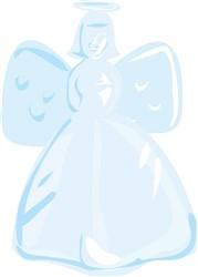 Holiday Angel print art