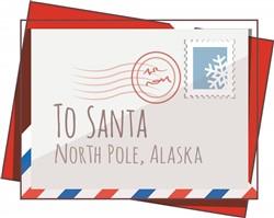 Santa Letter print art