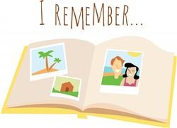 I Remember print art