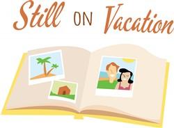 Still On Vacation print art