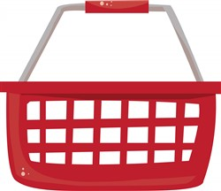 Shopping Basket print art