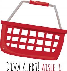 Diva Alert print art