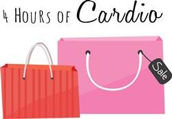 Hours Of Cardio print art