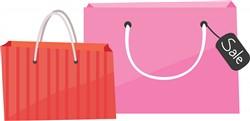 Shop Bags print art