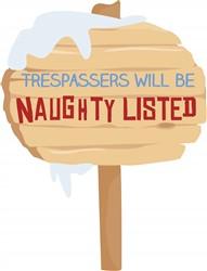 Naughty Trespassers print art