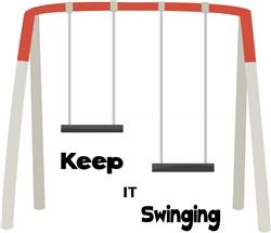 Keep It Swinging print art