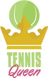 Tennis Queen print art