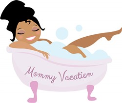 Mommy Vacation print art