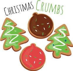 Christmas Crumbs print art
