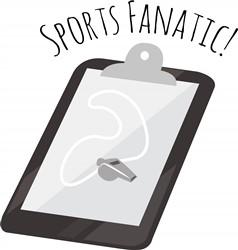 Sports Fanatic print art