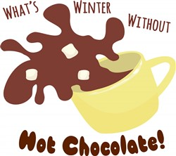 Hot Chocolate print art