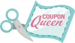 Coupon Queen print art
