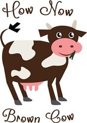 Brown Cow print art