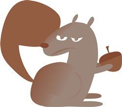 Rodent Squirrel print art