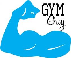 Gym Guy print art