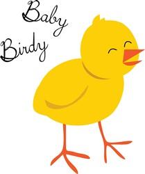 Baby Birdy print art