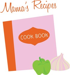 Mamas Recipes print art