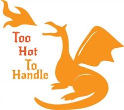 Too Hot To Handle print art
