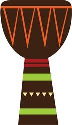 African Djembe Drum print art