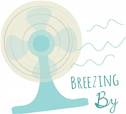 Breezing By print art