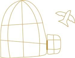 Bird Cage print art