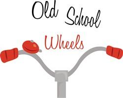 Old School Wheels print art