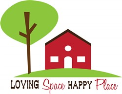 Loving Space Happy Place print art
